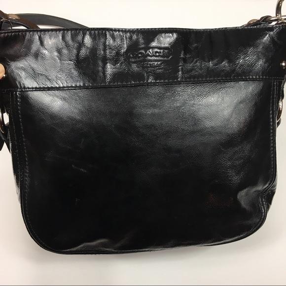 Coach Handbags - Coach Patent Leather Zoe shoulder bag F15478